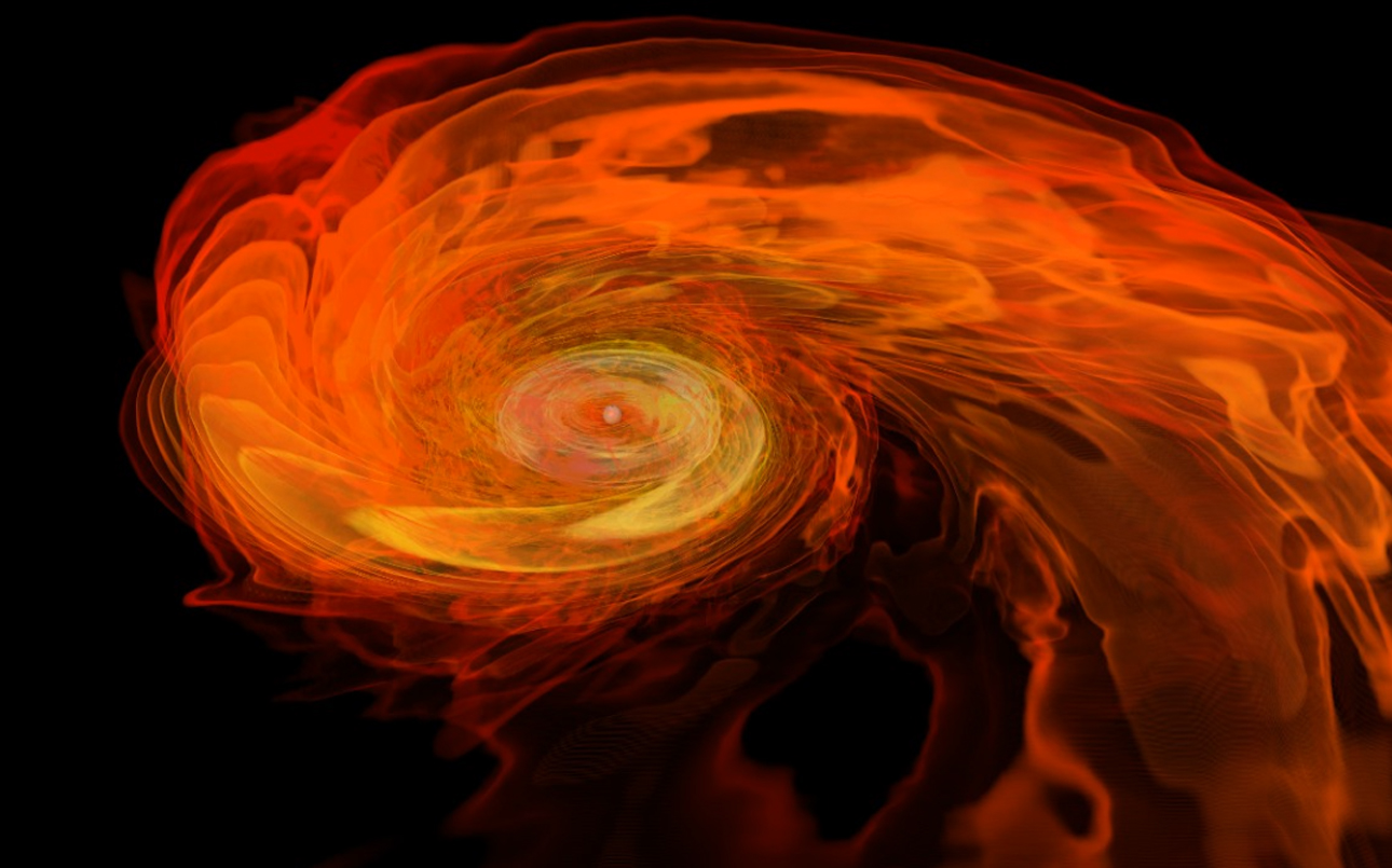 neutron star merger simulation of gravitational waves